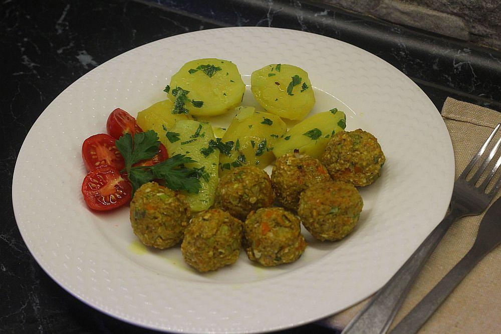 Pečené zeleninové kuličky podle břicháče Toma pro hubnoucí