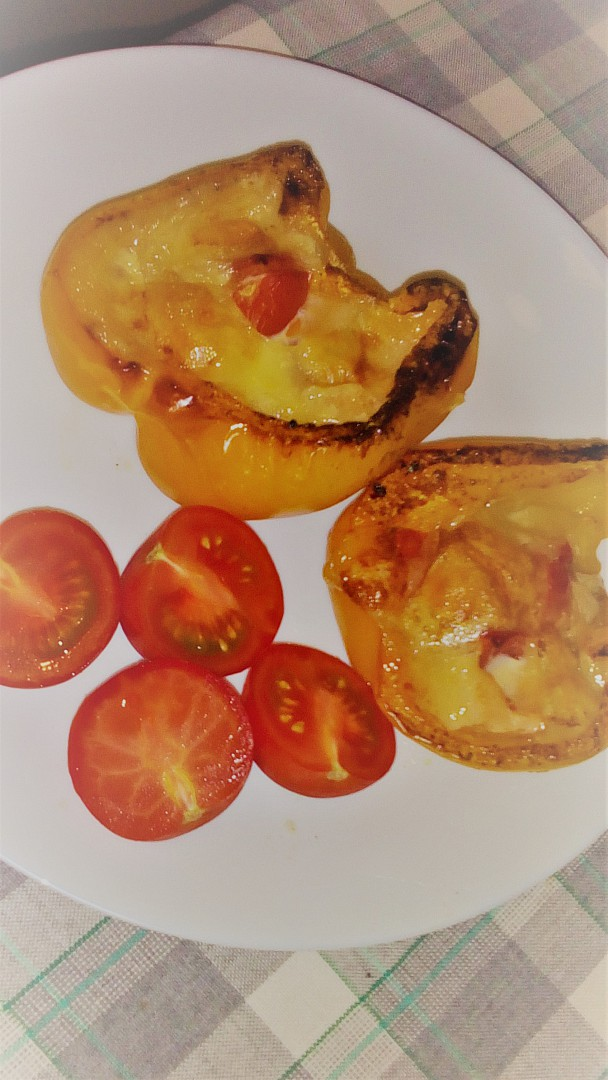 Plněné papriky (Dukanova dieta)