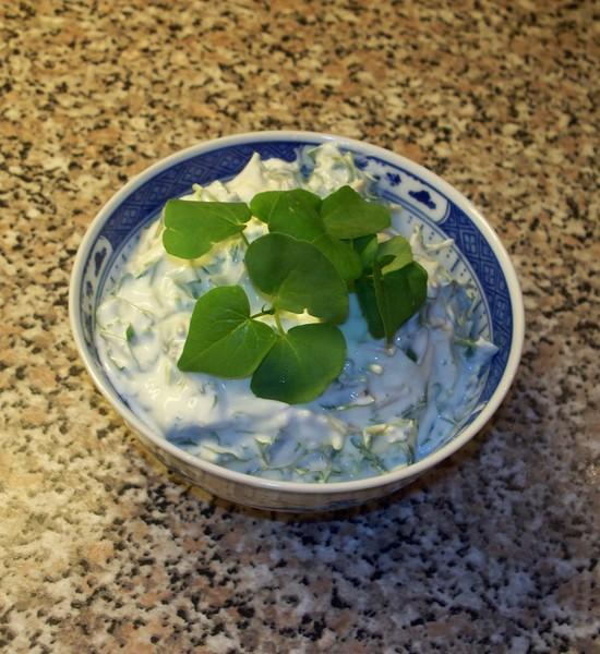 Pohankový salát s jogurtem