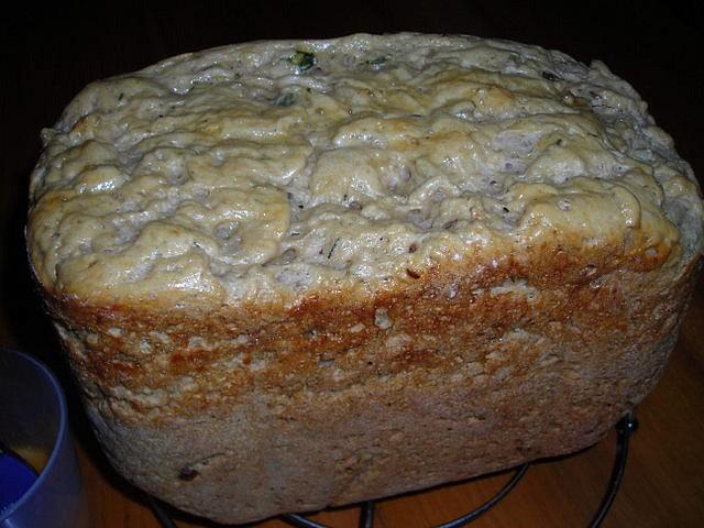 Pšenično - žitný chléb