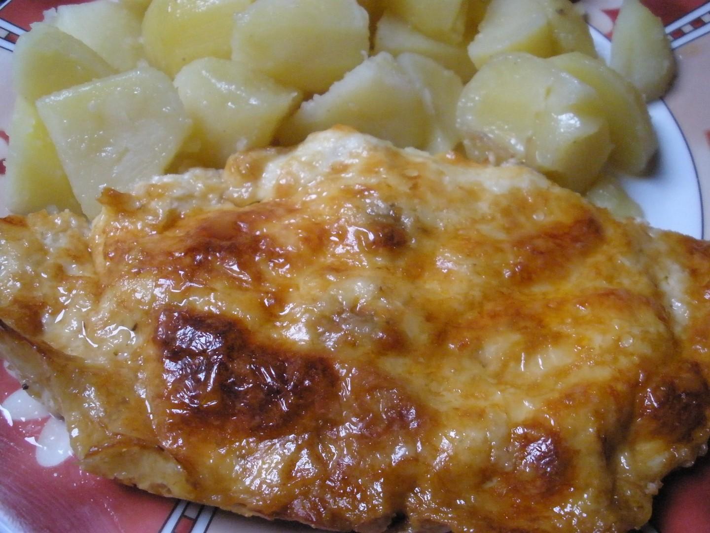 Římovské maso pod sýrovou poklicí