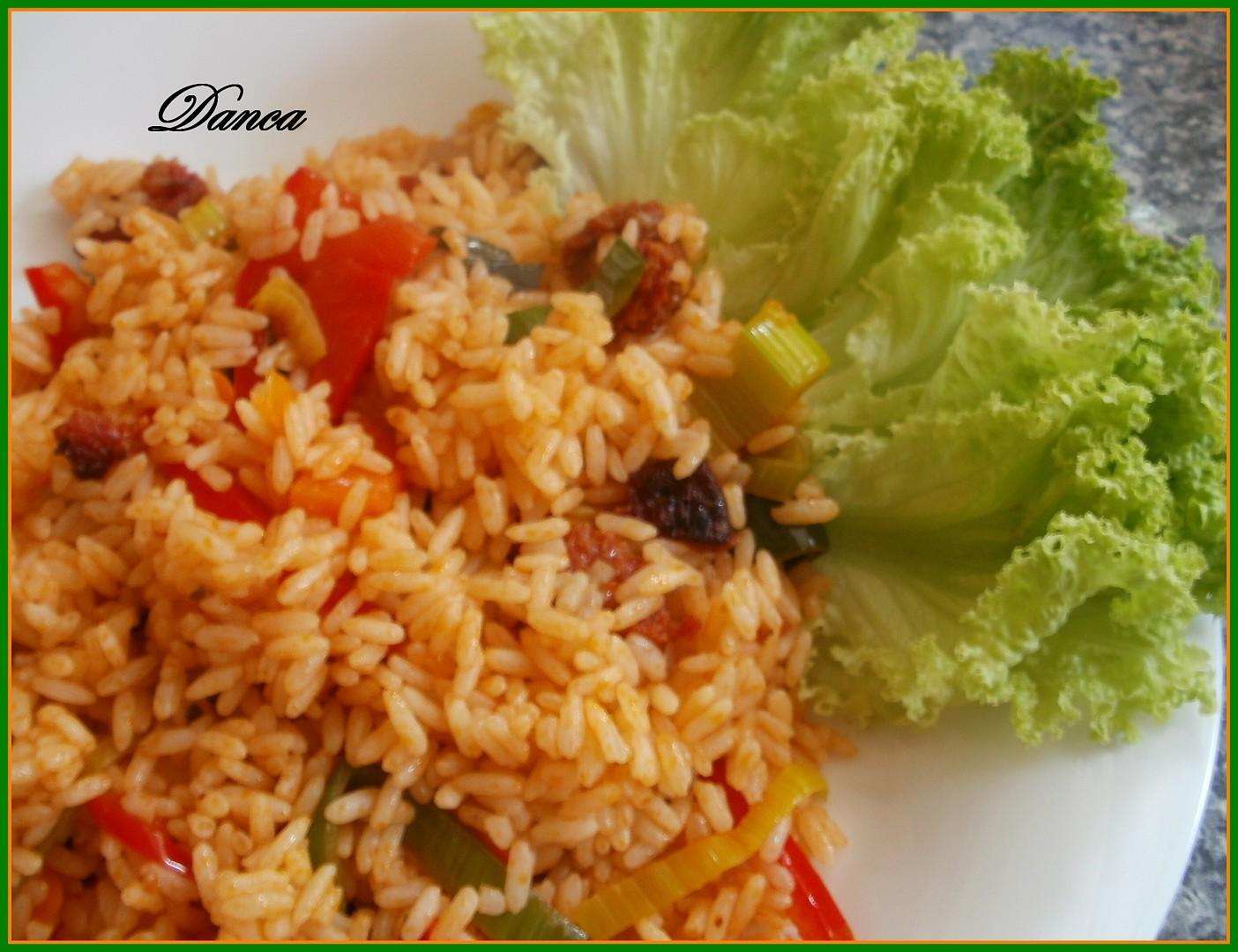 Risotto chorizo (pikantní chuti)