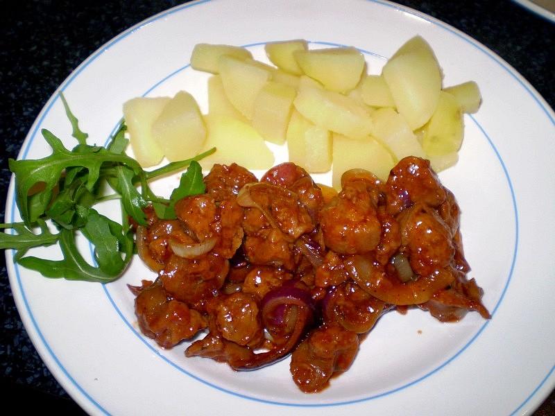 ROBI maso v medové marinádě se sezamem - vegan