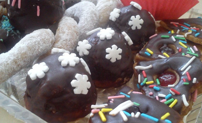 Rozinkové kopečky v čokoládě