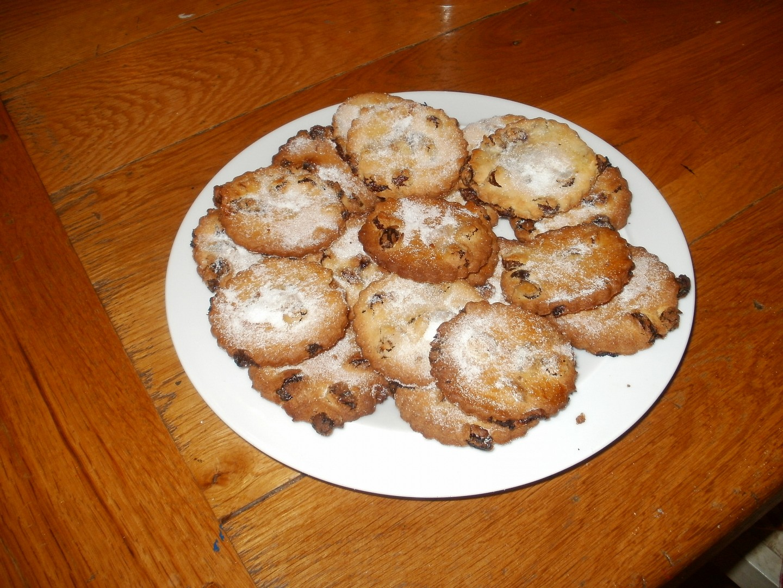 Rozinkové sušenky