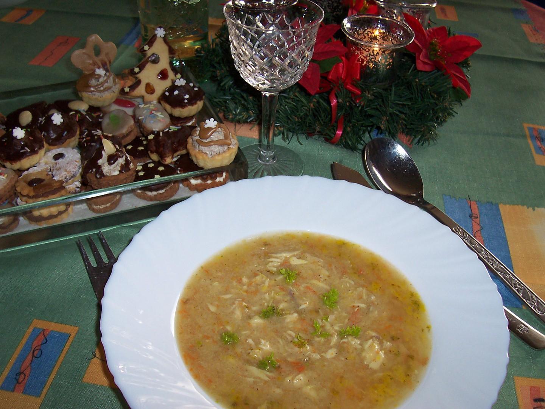 """""""Rybí"""" polévka bez ryby pro moji vnučku"""