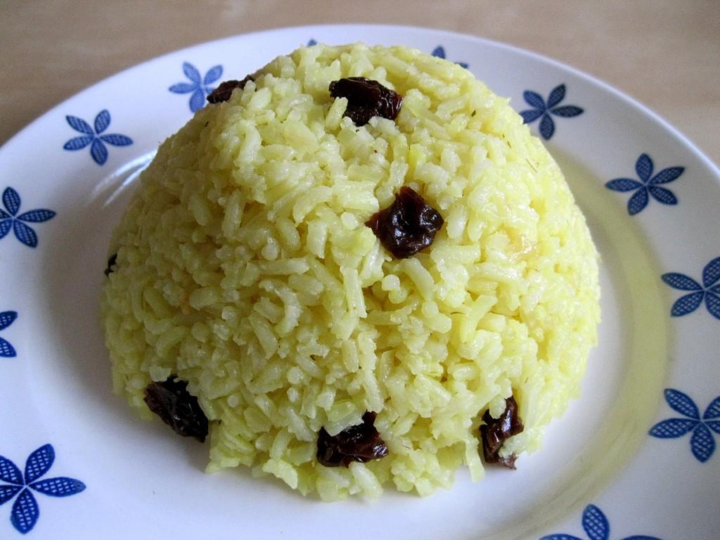 Rýže na orientální způsob