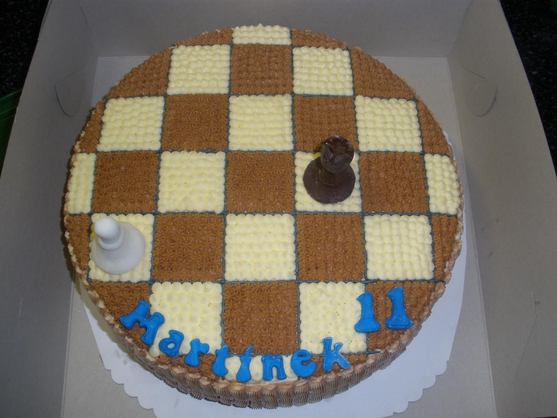 Šachovnice krémová
