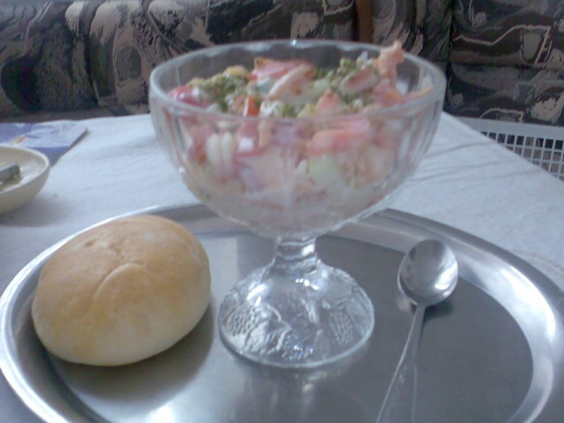 Salát pro Boubelku