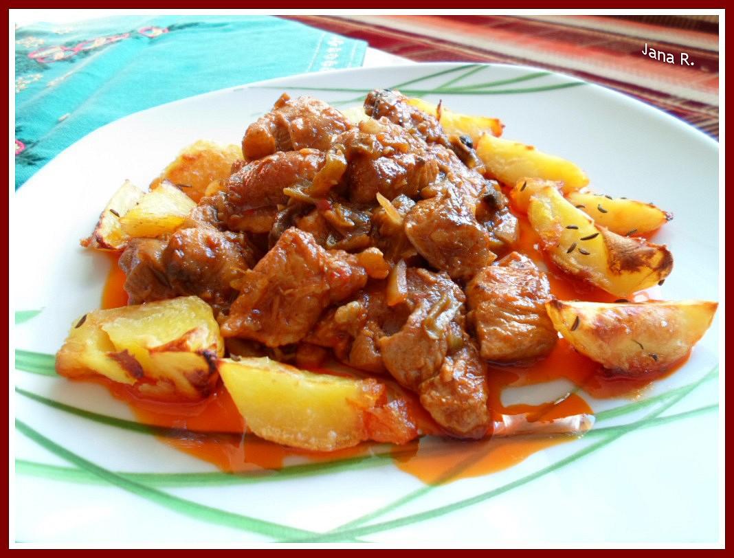 Sedlácké vepřové maso