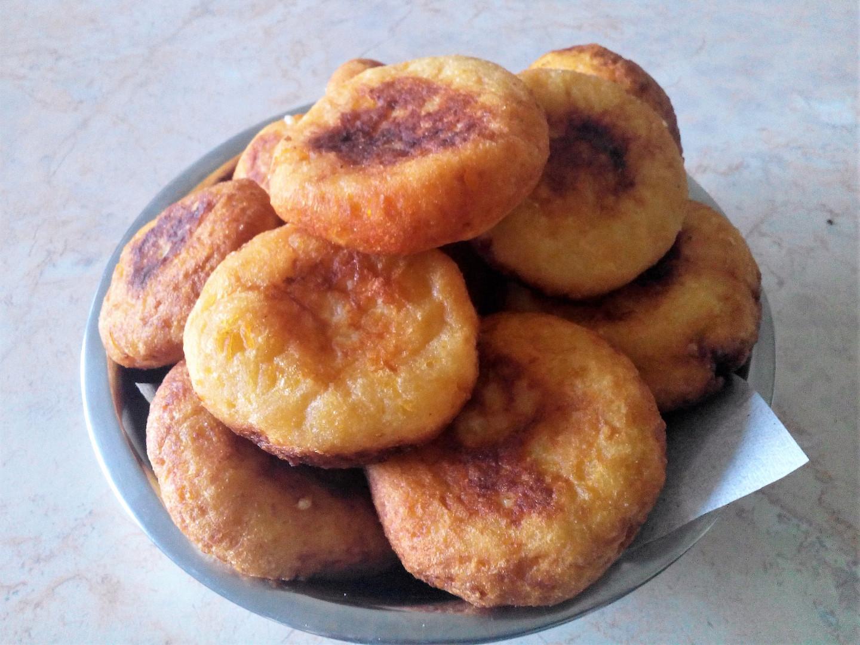 Slané bramborové koblihy
