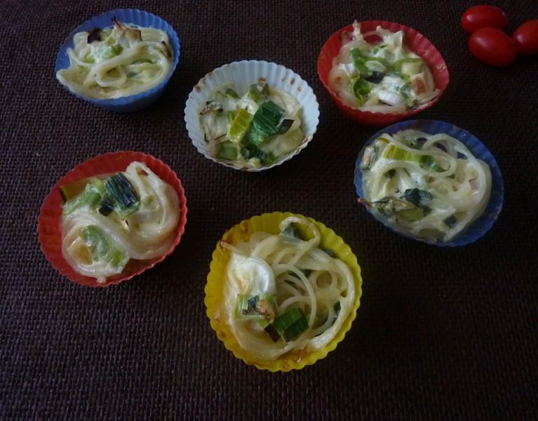 Špagetová hnízda pro děti