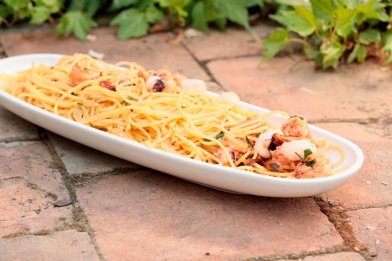 Špagety fruti di mare