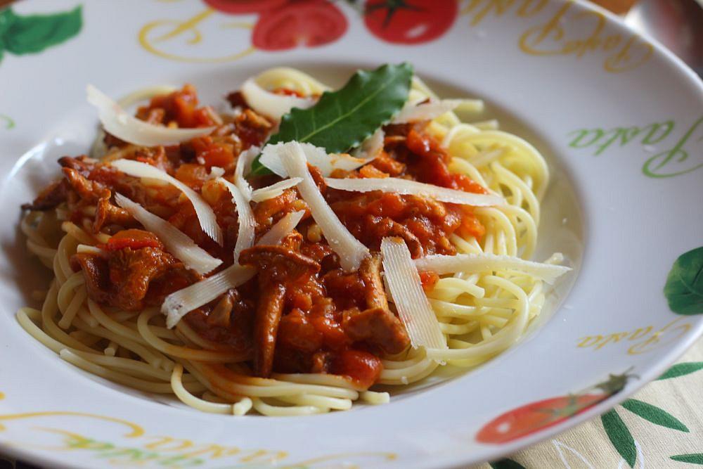 Špagety s liškami