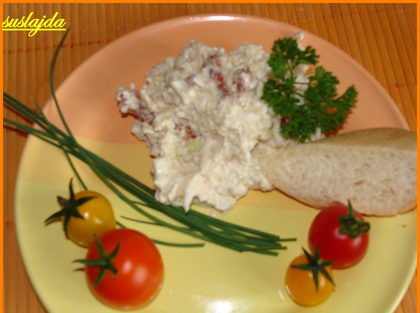 Sýrová pomazánka se sušenými rajčaty