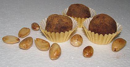 Upgrade čokoládových lanýžů Ořechovo-mandlové lanýže