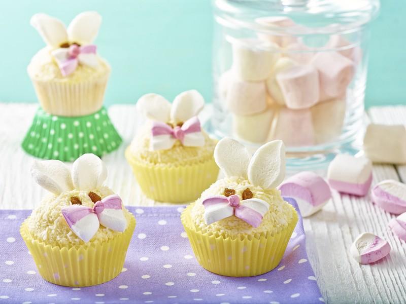 Ušatý cupcake