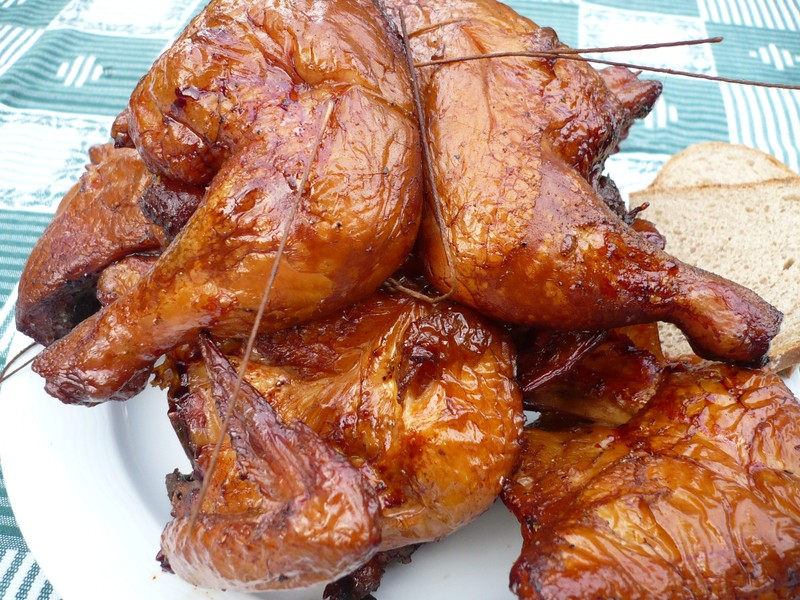 Uzená kuřata