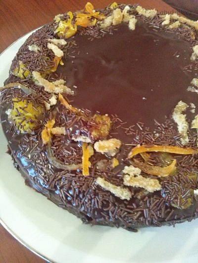 Velmi čokoládový dort