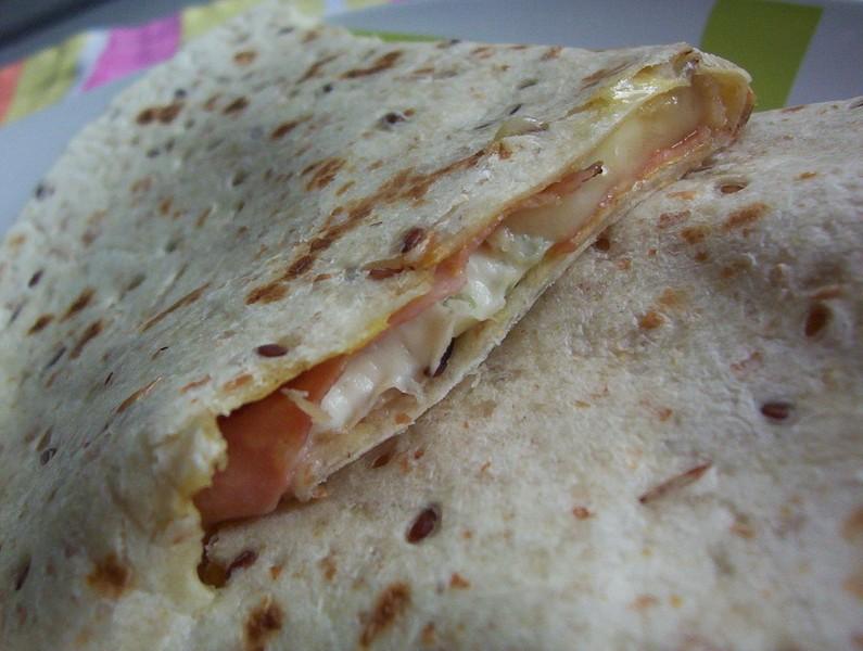Zapečená tortilla