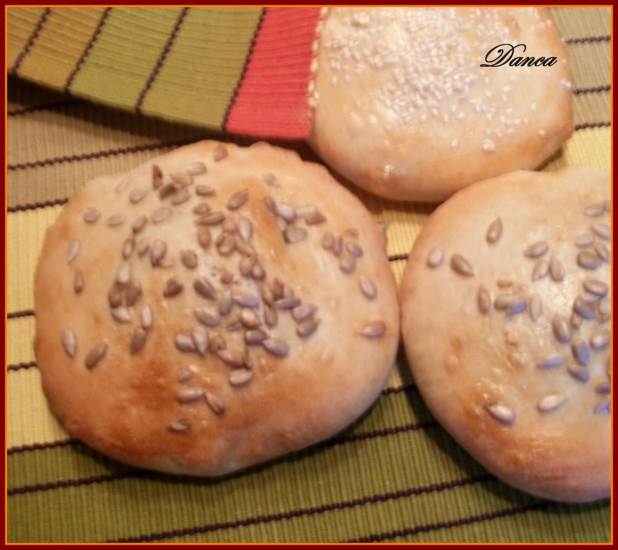 Zavalované chlebové placky s Nivou