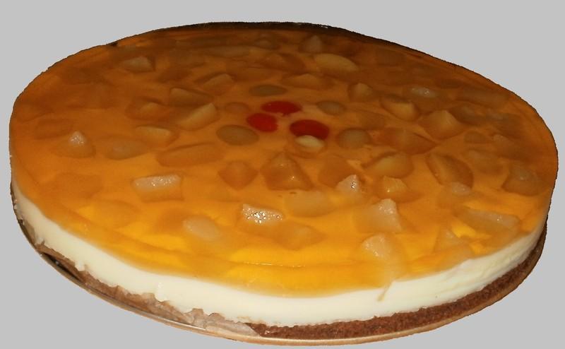 Želé dortík