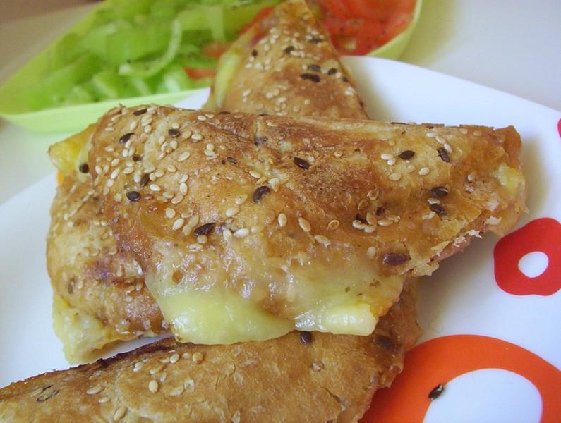 Zeleninové toasty s pestem