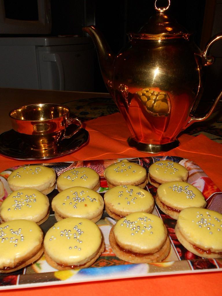 Žloutkové dortíčky
