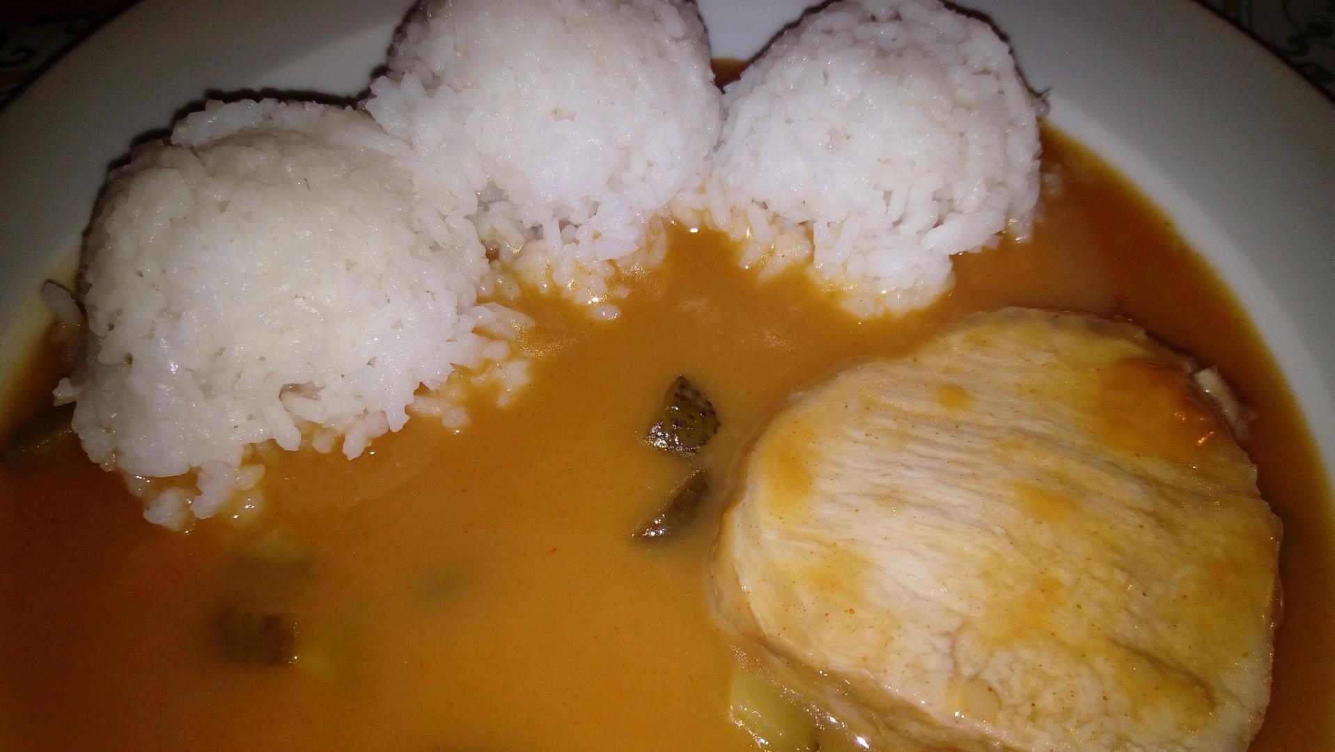 Znojemská pečeně s rýží